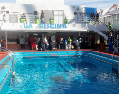 two night cruise to the bahamas pool